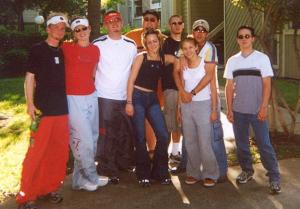 Me, Crystal, Paul, Cheese, Cherie, Noj, Richard, Bonnie, Glitch- Zenfest