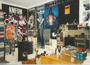 This was my room in high school