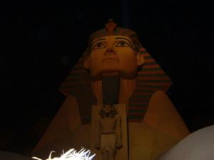 Luxor @ night