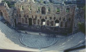 Ancient theatre in Italy