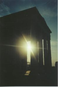Sunset on the Acropolis