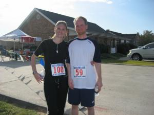 Our first 5k together